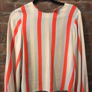 Revolve Stine Goya Danish Dress blouse top Shirt S